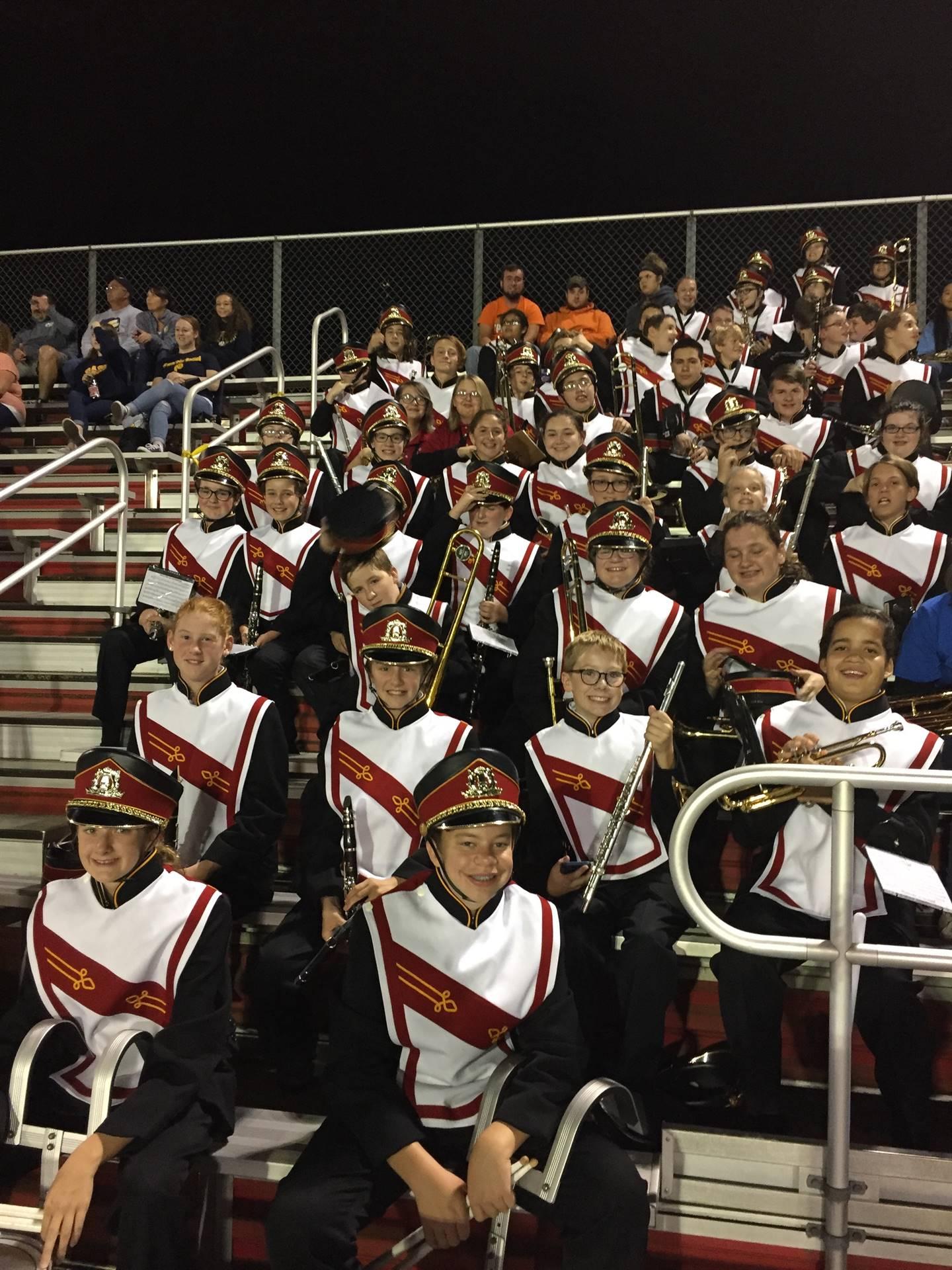 Shepherd Band Night at OHS