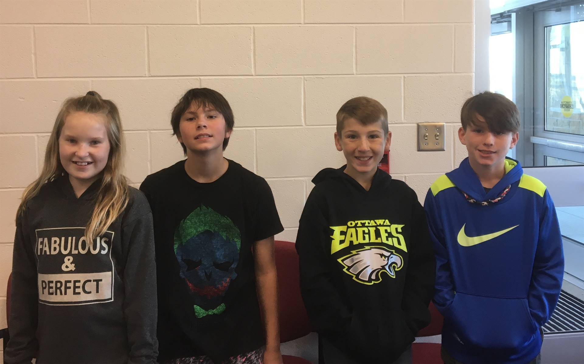 September's Perfect Attendance Winners -