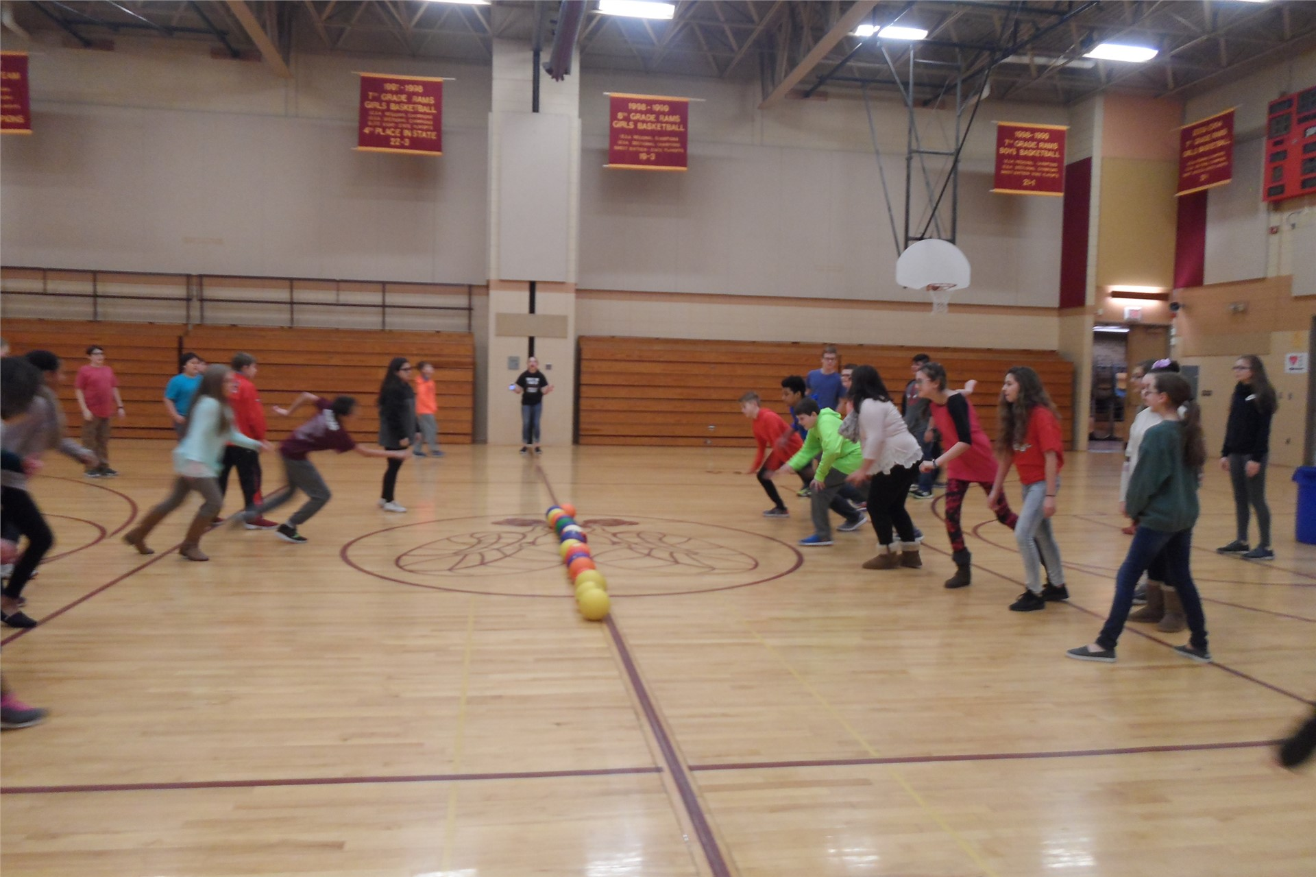 Team Two Dodge-ball