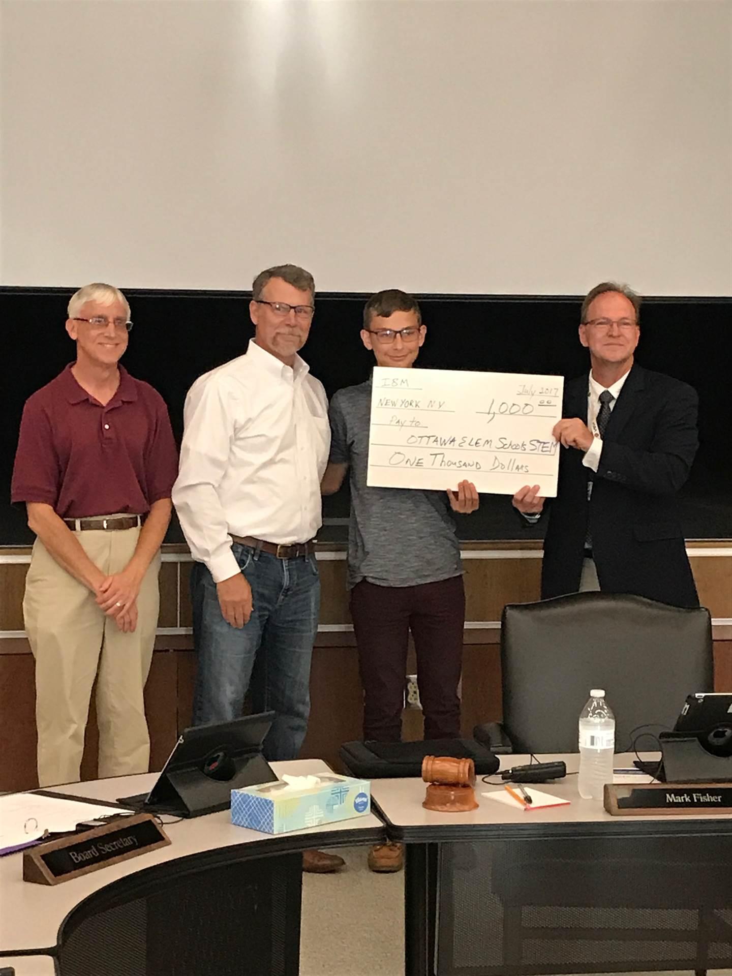 1,000 IBM Community Grant