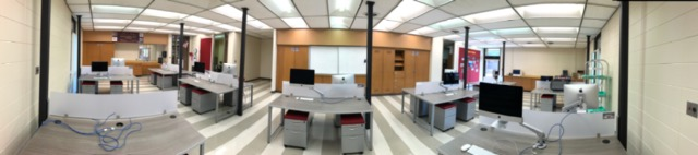 Panoramic View of the STEM Lab