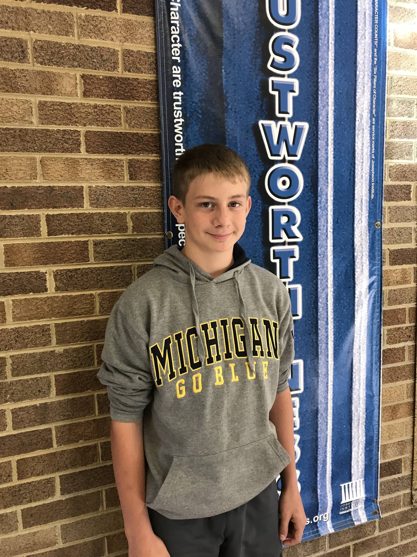 October Student of Character - Ryder M.
