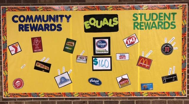 $160.00 Rewarded to Students as of 10/3/2018