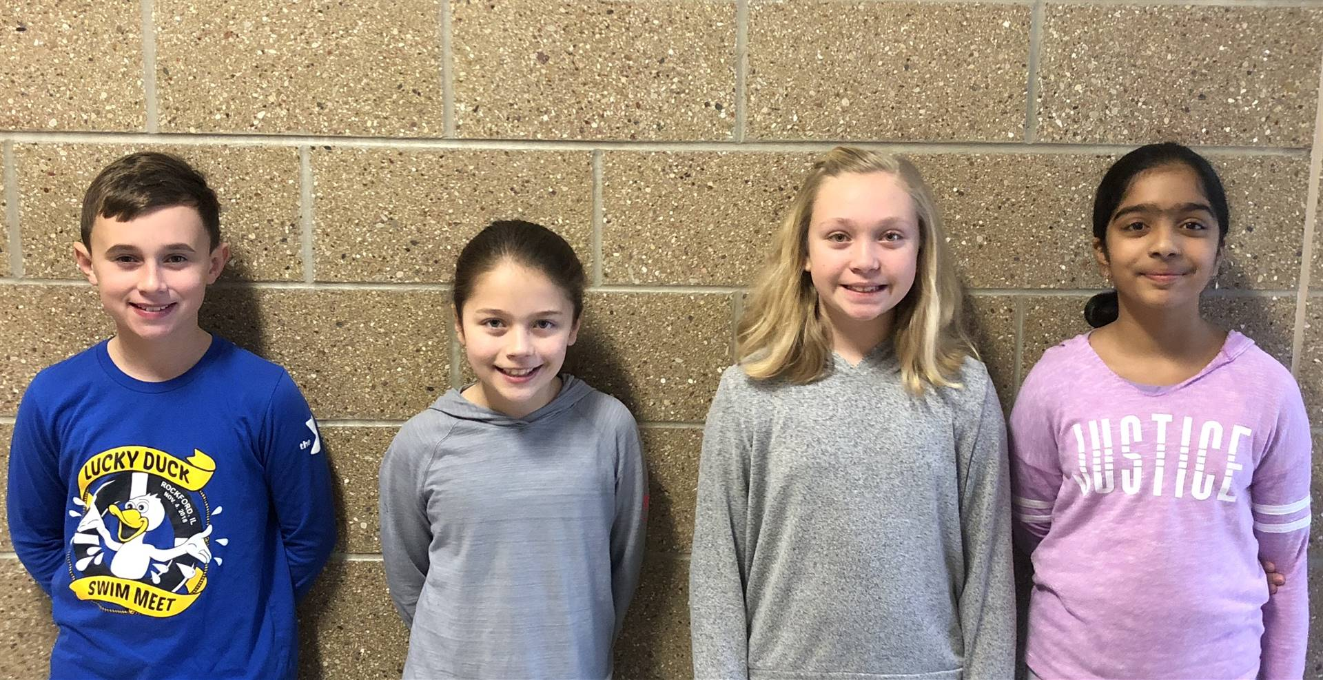 December Students of the Month for Respect