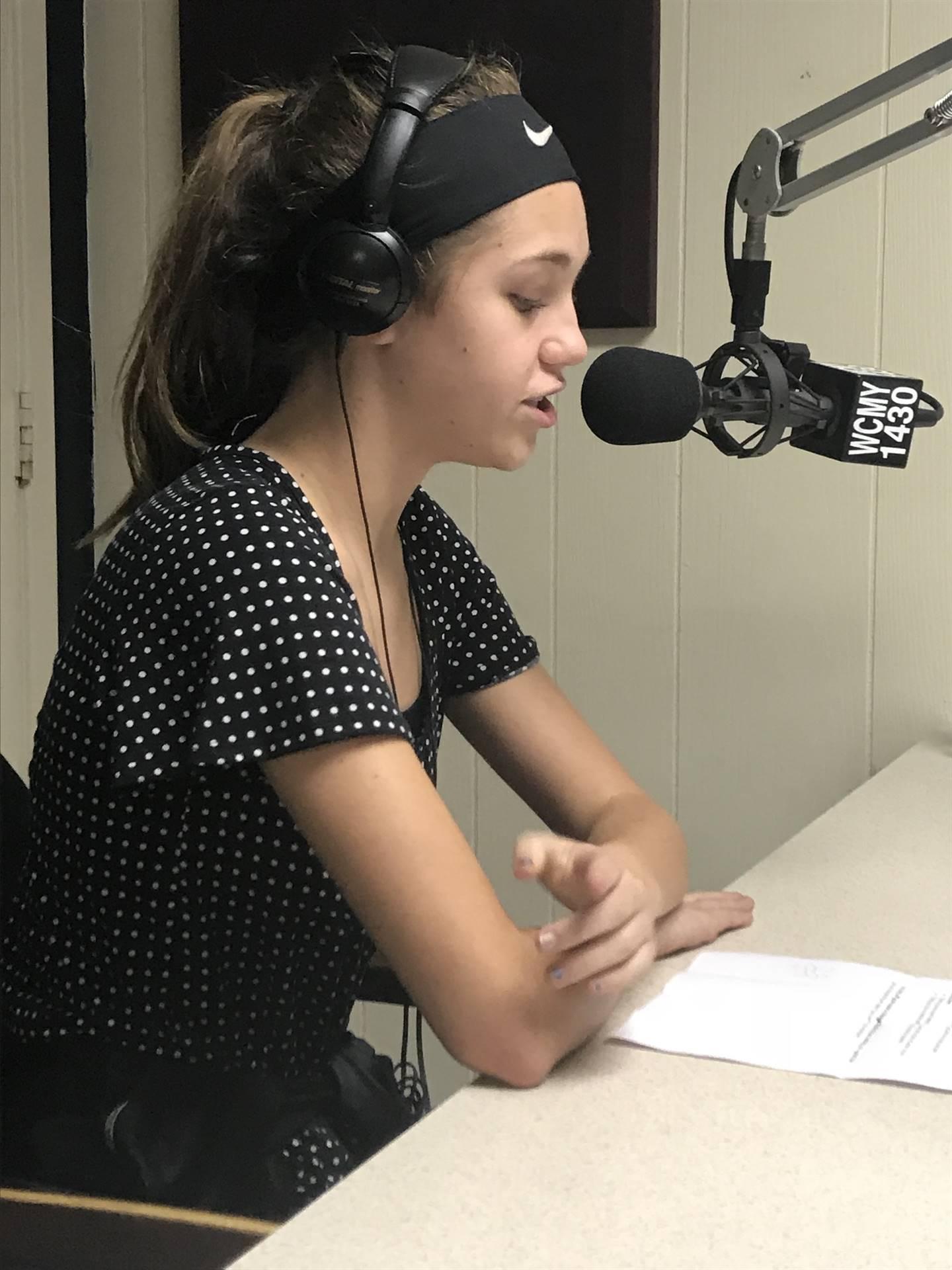 Emily  (WCMY Radio Show)