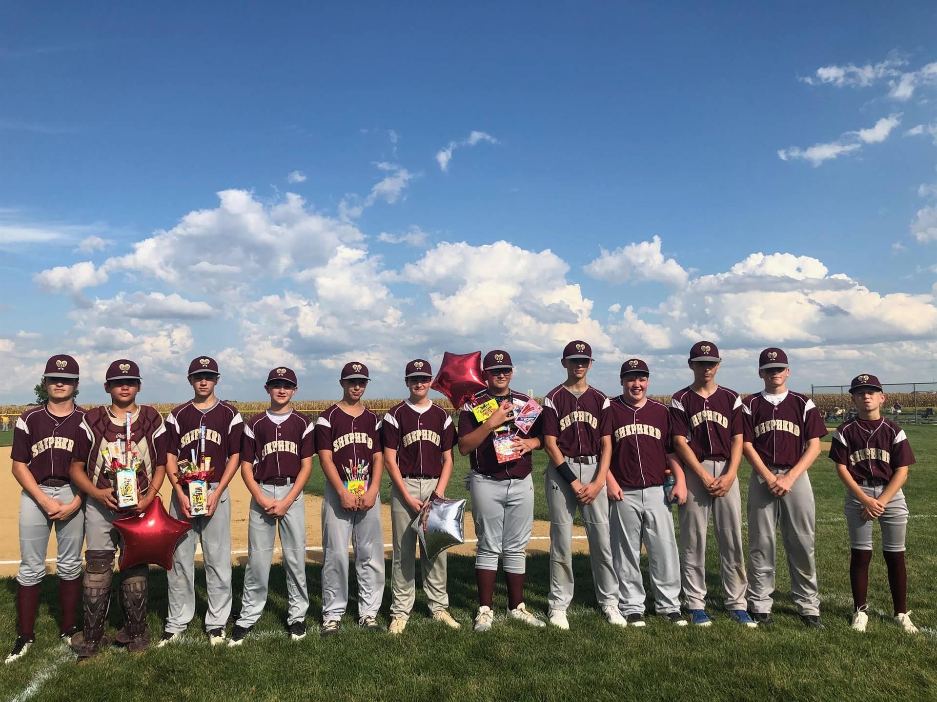 8th Grade  Baseball Members (Parent Night)
