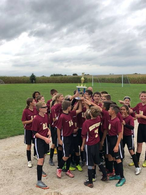 Soccer First Place (Milton Pope Tournament 2018)
