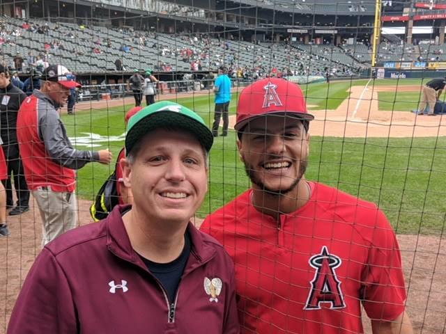 Mr. Lowe and  Michael Hermosillo - Angels vs White Sox