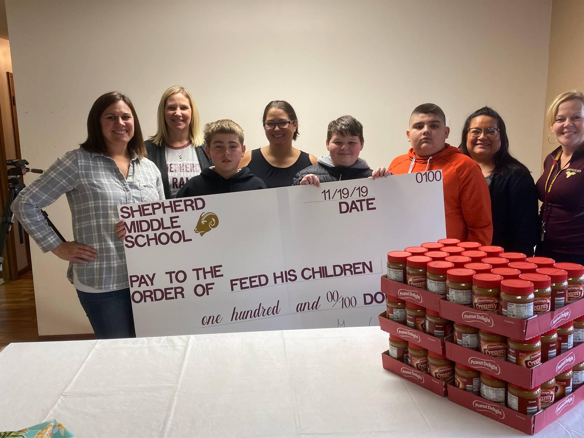 Shepherd Donation - Feed His Children
