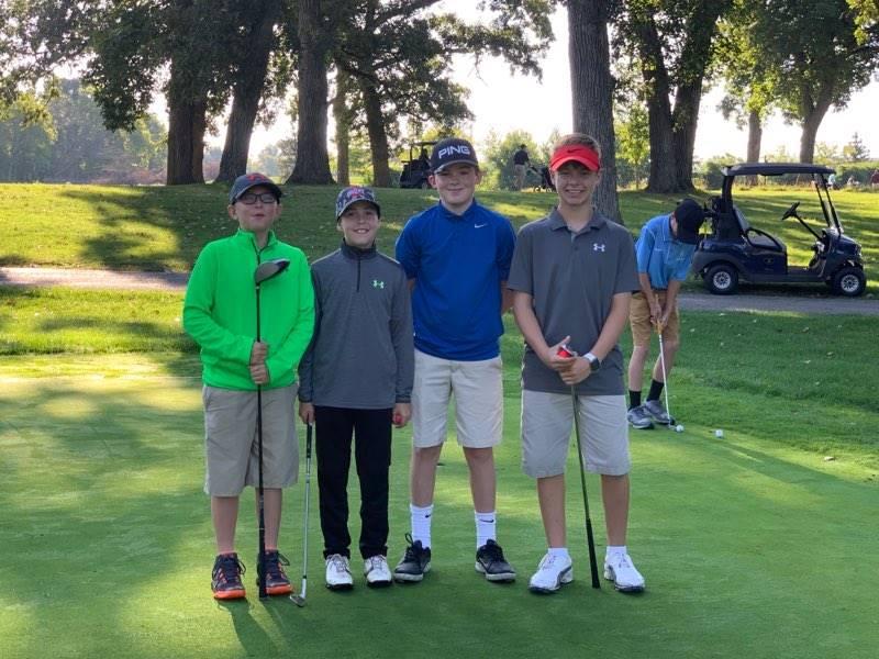Shepherd Rams Golf Team 2019-20