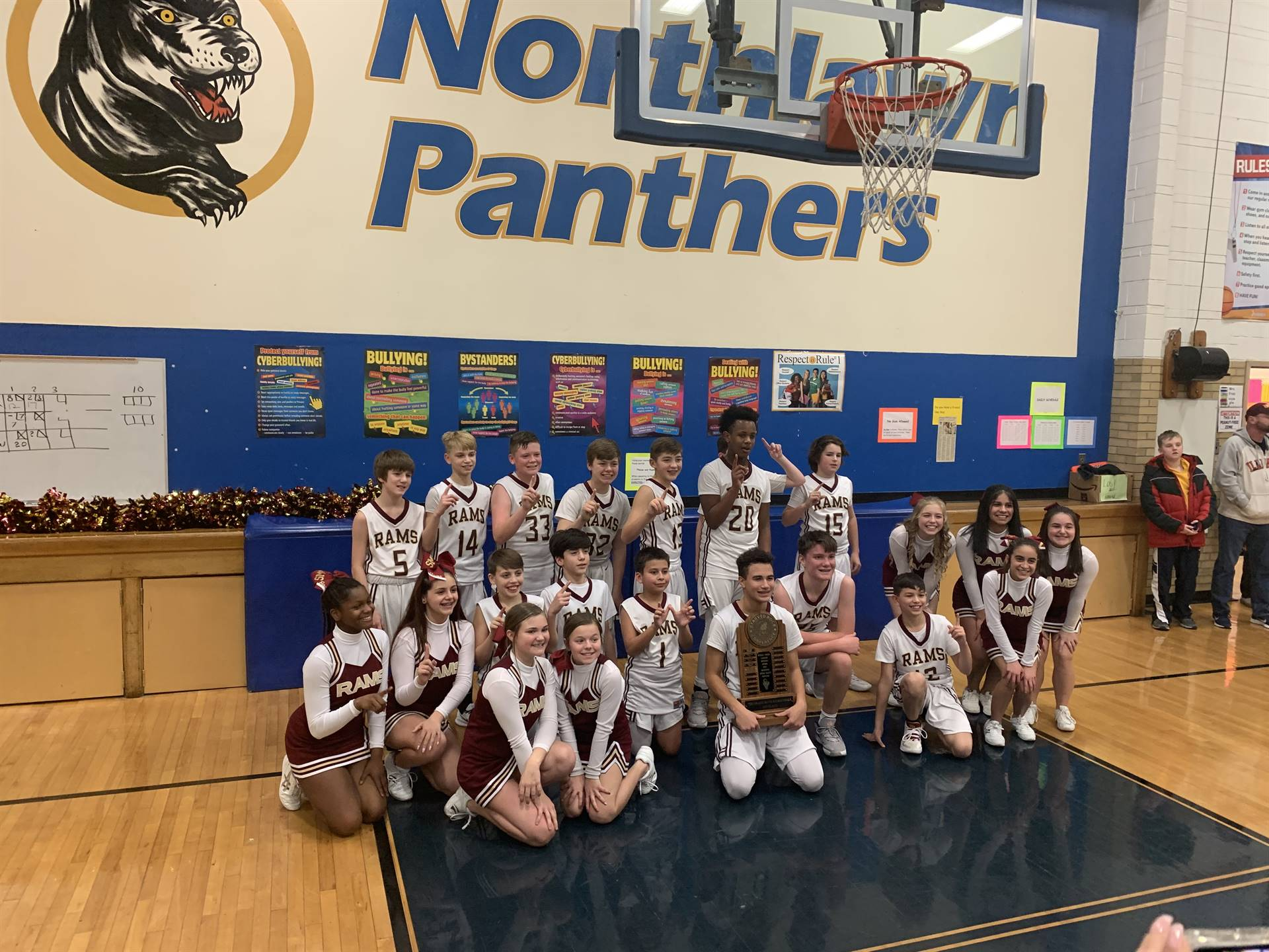 Shepherd Boys Basketball - 1st Place