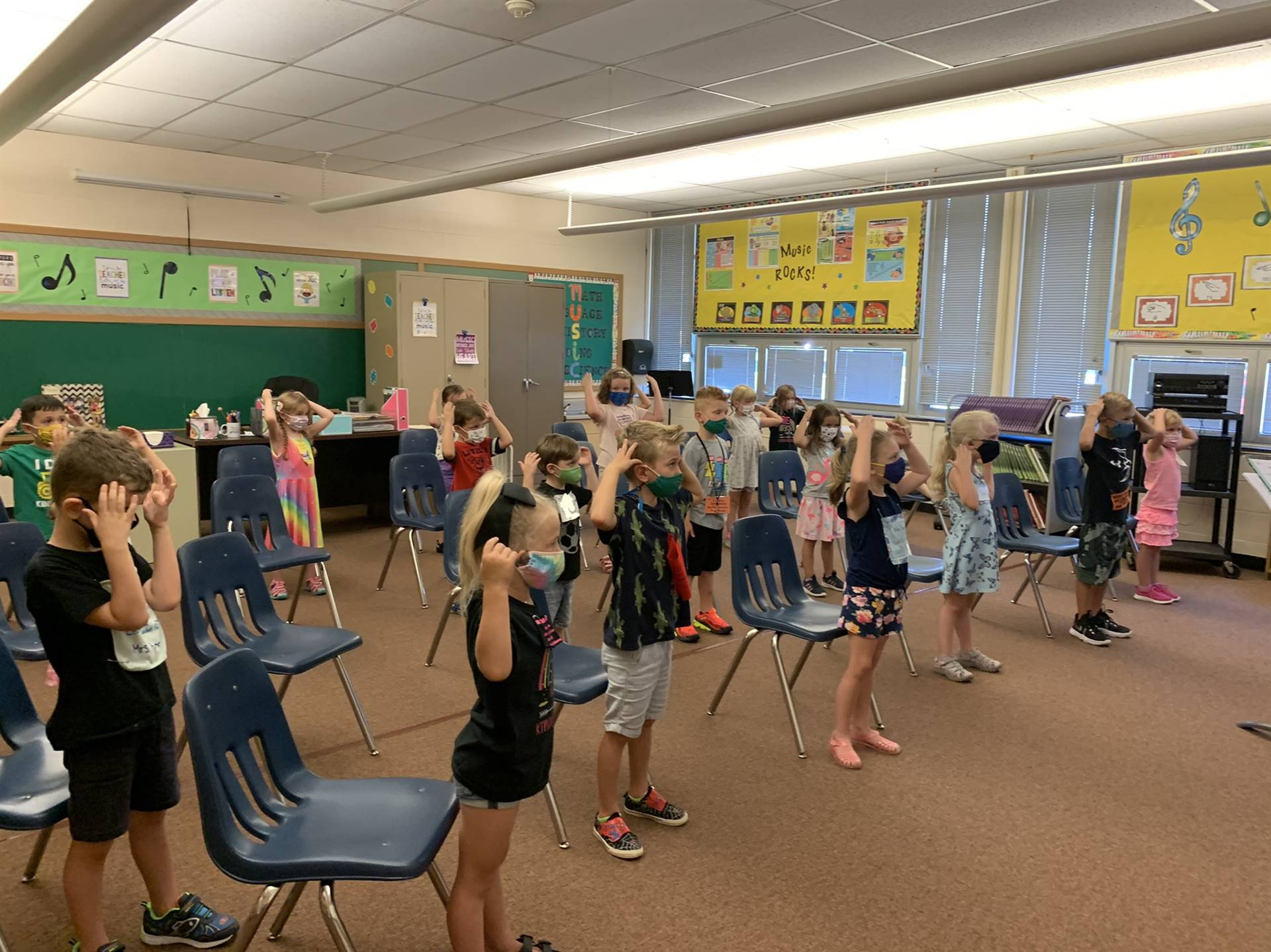 First Day of School-Music Class